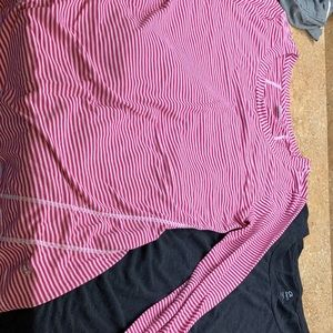 Two Gap Fit long sleeve shirts